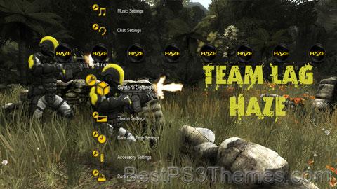 Team LAG HAZE Theme