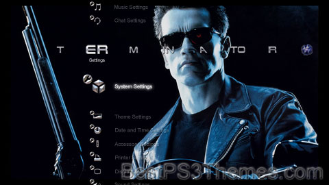 Terminator 2 HD Theme Preview