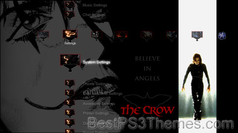 The Crow by DK Theme