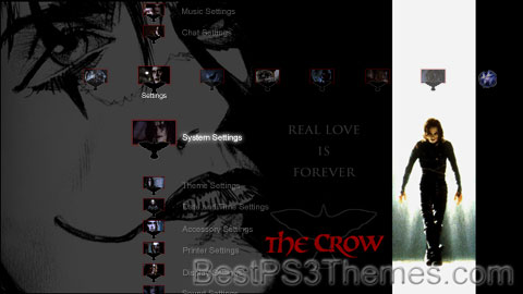 The Crow by DK (Version Two) Theme