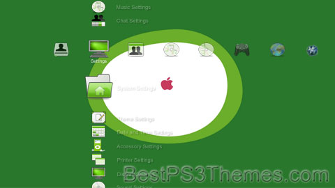 The Green Apple Theme