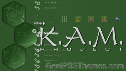 The KAM Project Theme Preview