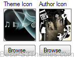 Theme Icon, Author Icon