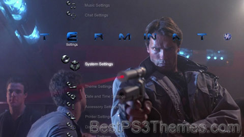 The Terminator HD Theme Preview