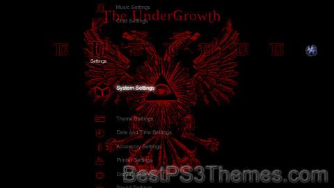 The UnderGrowth Theme