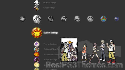 The World Ends With You Theme