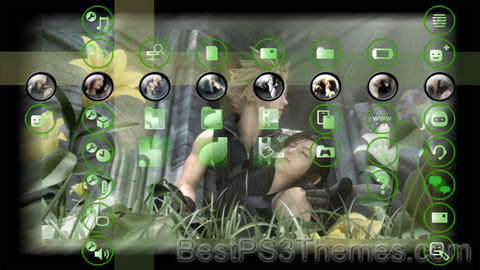Tifa Cloud Theme