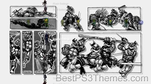 TMNT 1984 by DK Theme