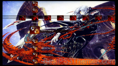 Trinity Blood v2 Theme