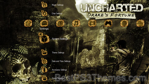 Uncharted Drakes Fortune Theme 6