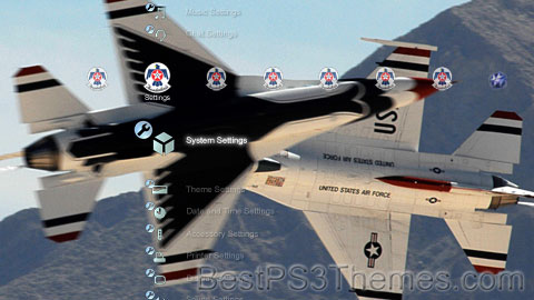 USAF Thunderbirds v1.1 Theme