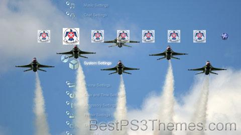 USAF Thunderbirds v1.0 Theme