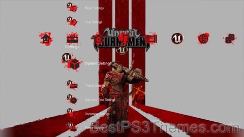 Unreal Tournament 3 - Blood Splatter Edition Theme