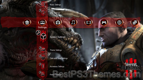 Unreal Tournament III v1.5 Theme