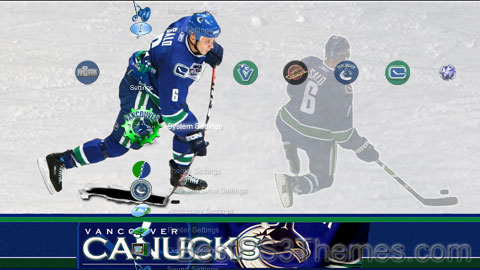 Vancouver Canucks Theme Preview