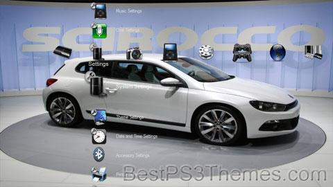 Volkswagen Scirocco Theme