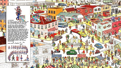 Where's Wally?? (Waldo) Theme