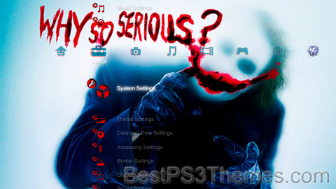 Why So Serious? Theme