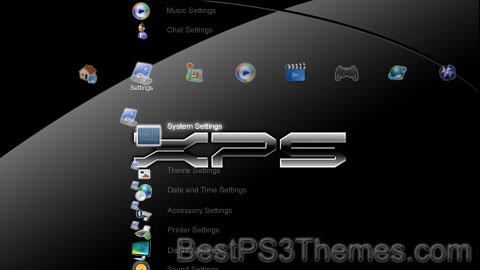Windows PS3 2.52 Theme