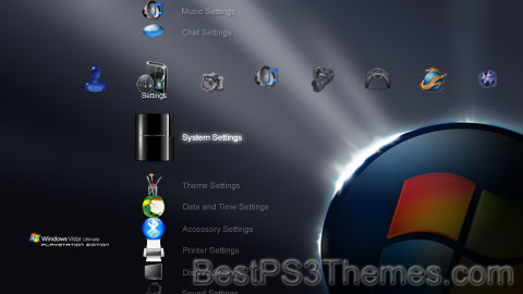 Windows Vista Ultimate PLAYSTATION EDITION Theme 2