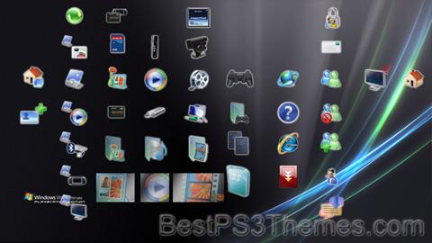 Windows Vista Ultimate Playstation Edition Theme
