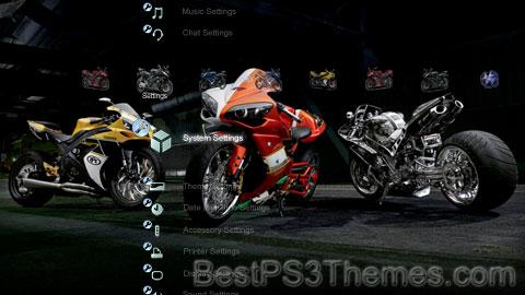 Yamaha Bikes Theme