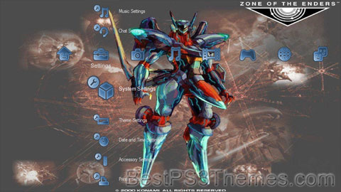 Zone of the Enders versionD Theme